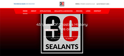 Visit the 3C Sealants micro site link