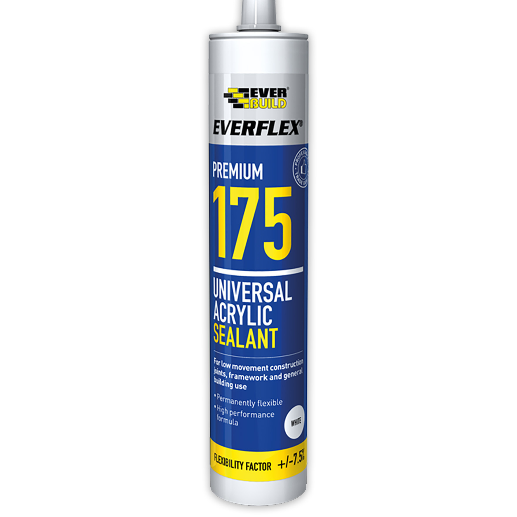 Everbuild Everflex 175 Universal Interior Acrylic Sealant