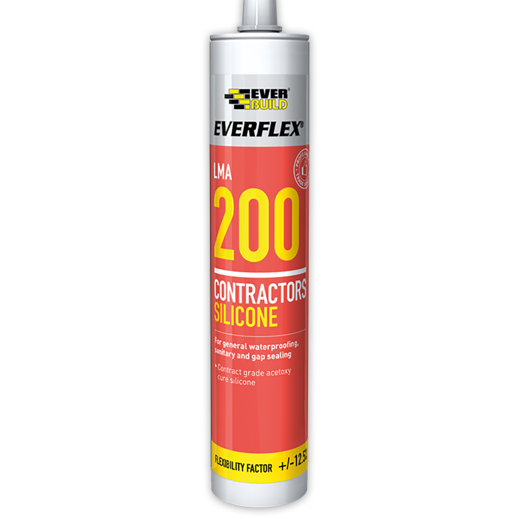 Everbuild Everflex 200 LMA Interior Contractors Silicone