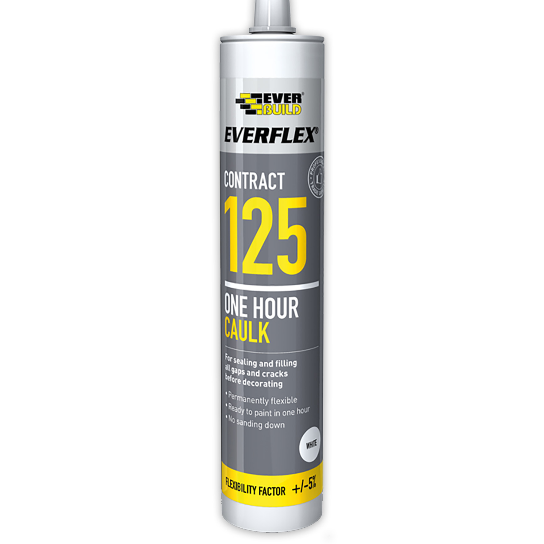 Everbuild Everflex 125 One Hour Acrylic Caulk Sealant
