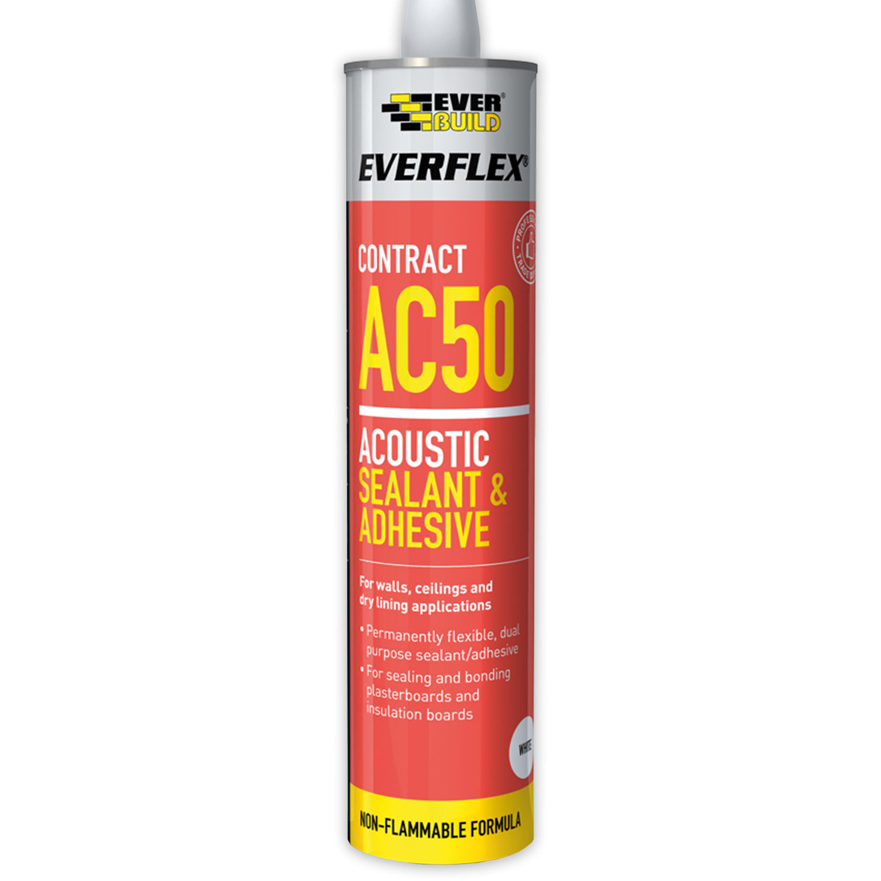 Everbuild Everflex AC50 Acoustic Acrylic Sealant