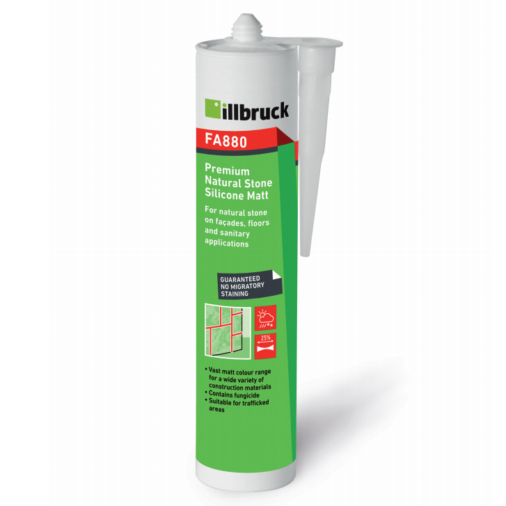 Tremco illbruck FA880 Premium Bathroom Silicone (MATT)