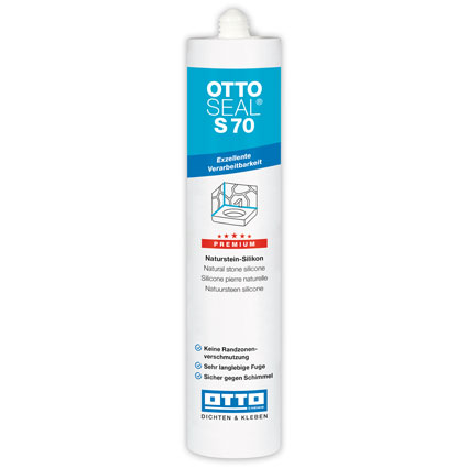 Otto-Chemie OTTOSEAL® S70 Premium Natural Stone Shower Sealant