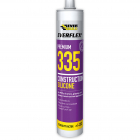 Everbuild Everflex 335 Fast Curing Construction Silicone