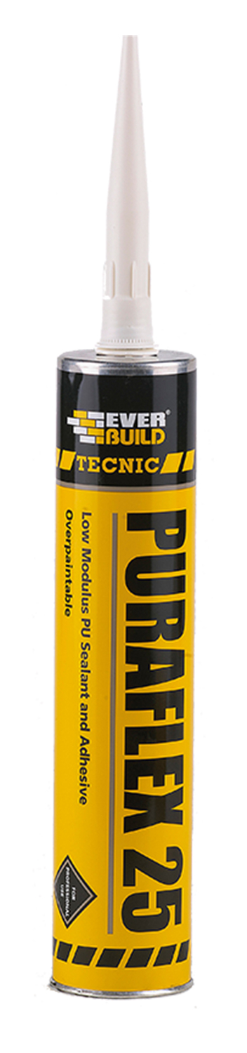 Everbuild Technic Puraflex 25 C3 Building Mastic Sealant