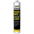 Everbuild Everflex Weather Mate Paintable Gap Filler & Adhesive