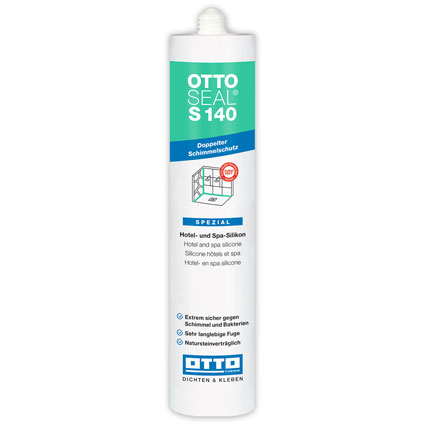 Otto-Chemie OTTOSEAL® S140 Anti-Mould Silicone Sealant