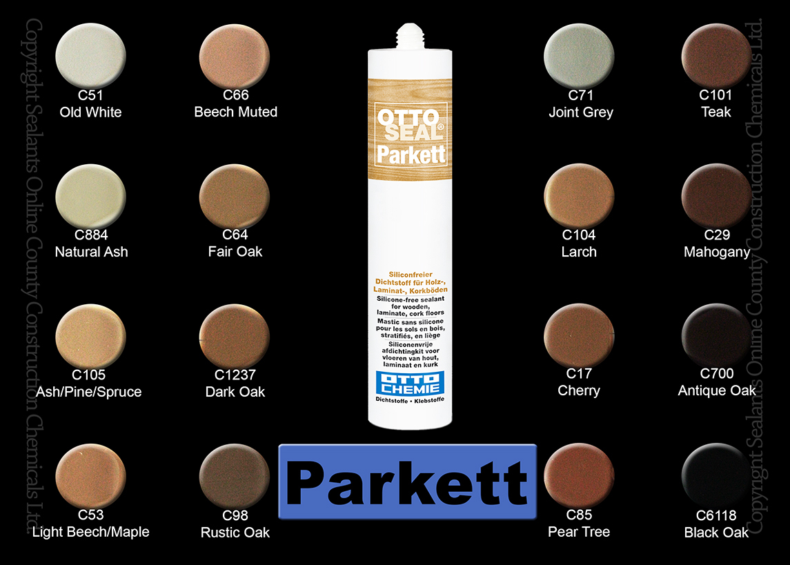 Otto-Chemie OTTOSEAL Parkett colours