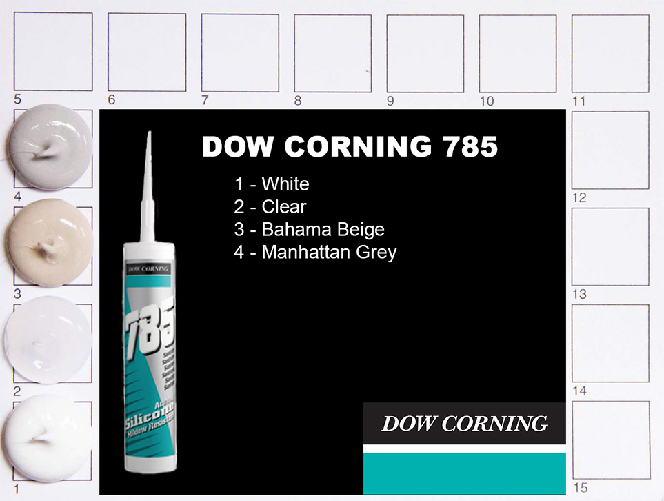 Dow Corning 785 Colours