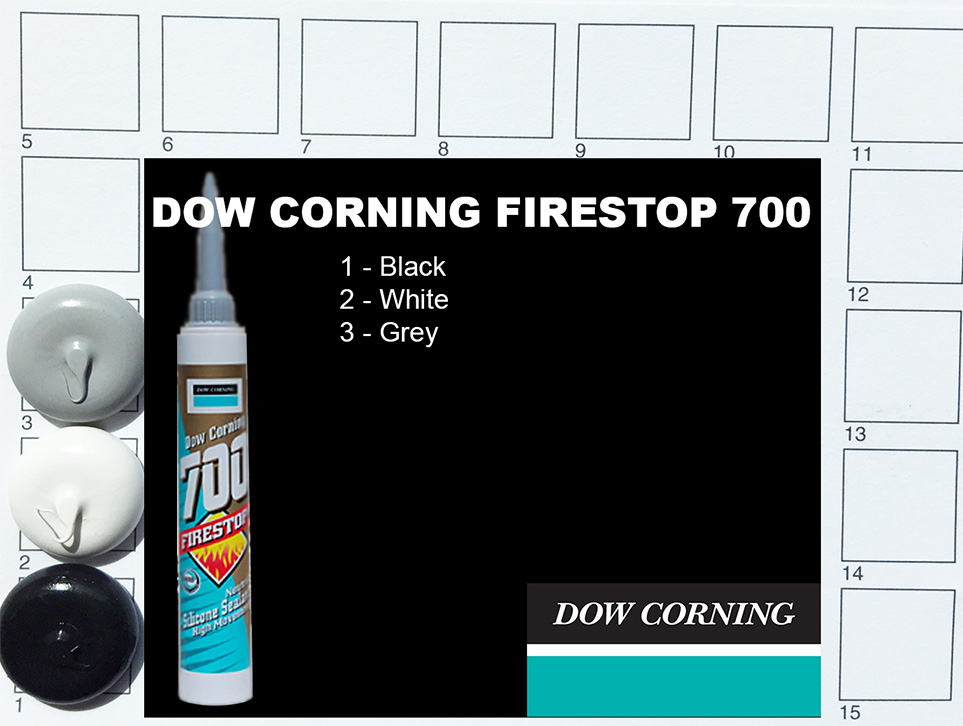 Dow Corning Firestop 700 Colours