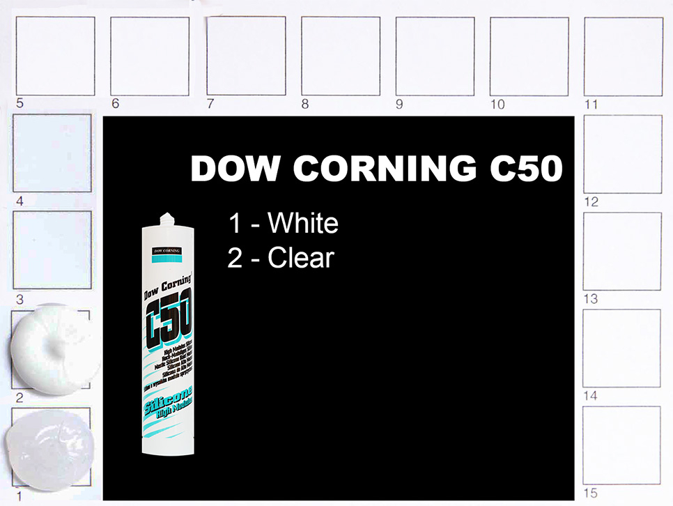 Dow Corning C50 Colours