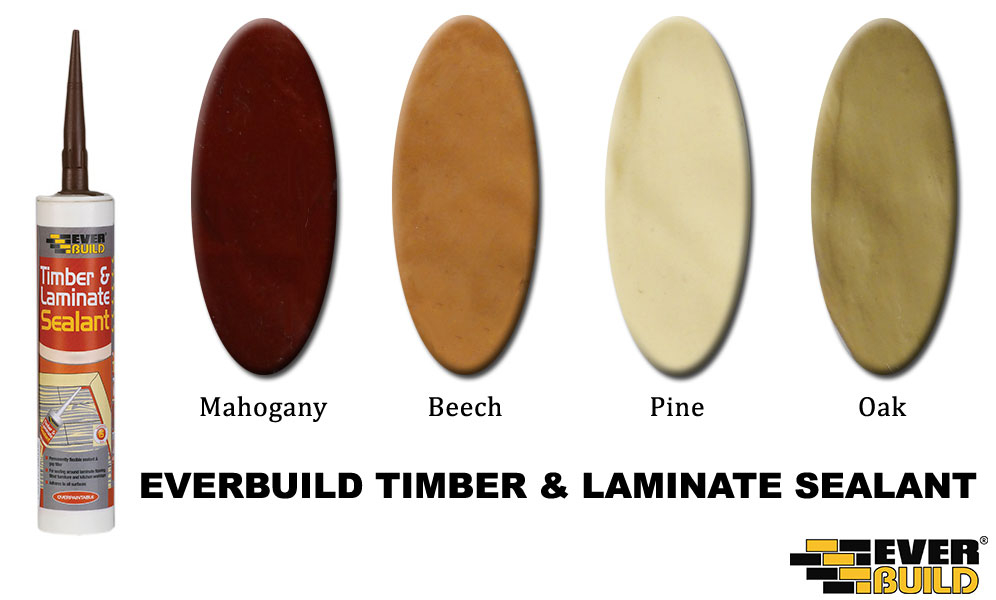 Everbuild Timber & Laminate Colours