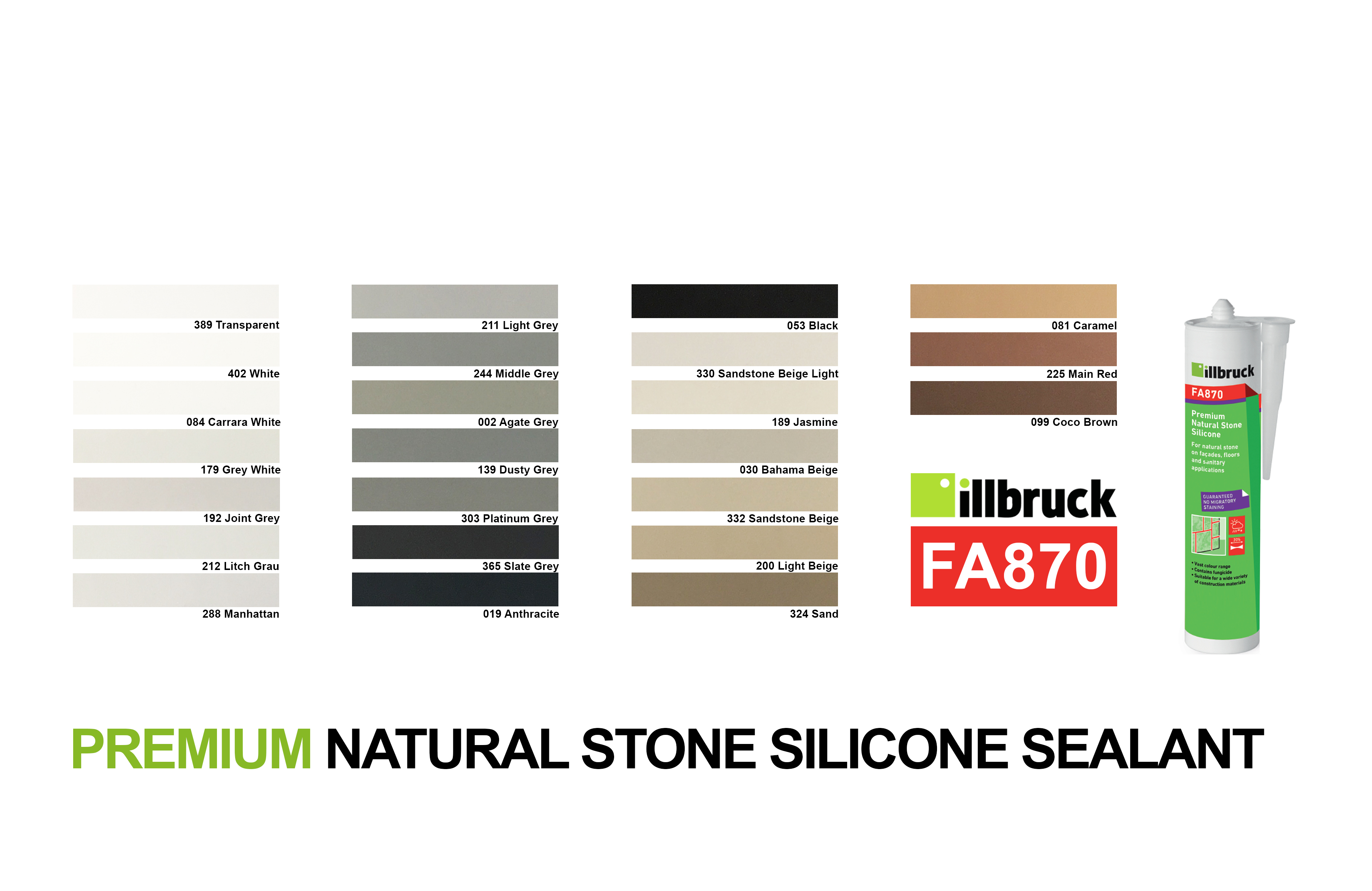 Tremco illbruck FA870 Colours