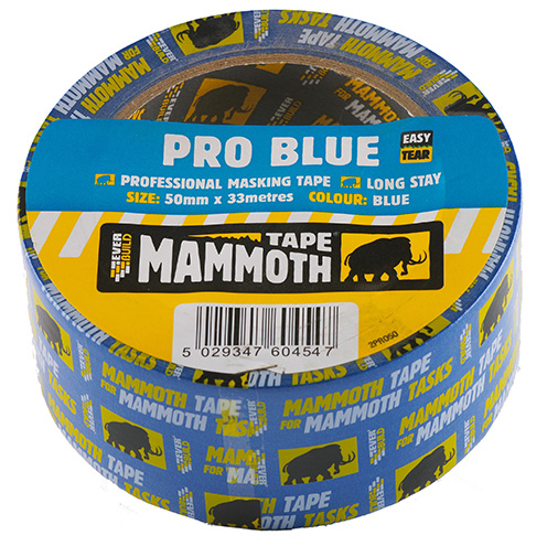 Everbuild Mammoth Pro Blue Masking Tape