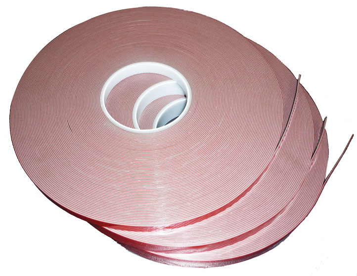 Foamed Acrylic Tape FAT Clear