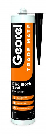 Geocel Fire Block Seal (Fire Cement) Sealant 310ml