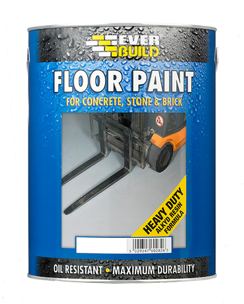 Everbuild Floor Paint (Concrete, Stone & Brick)
