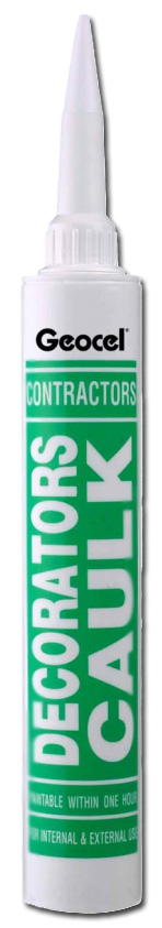 Geocel Contractors Decorators Caulk Mastic Filler 380ml