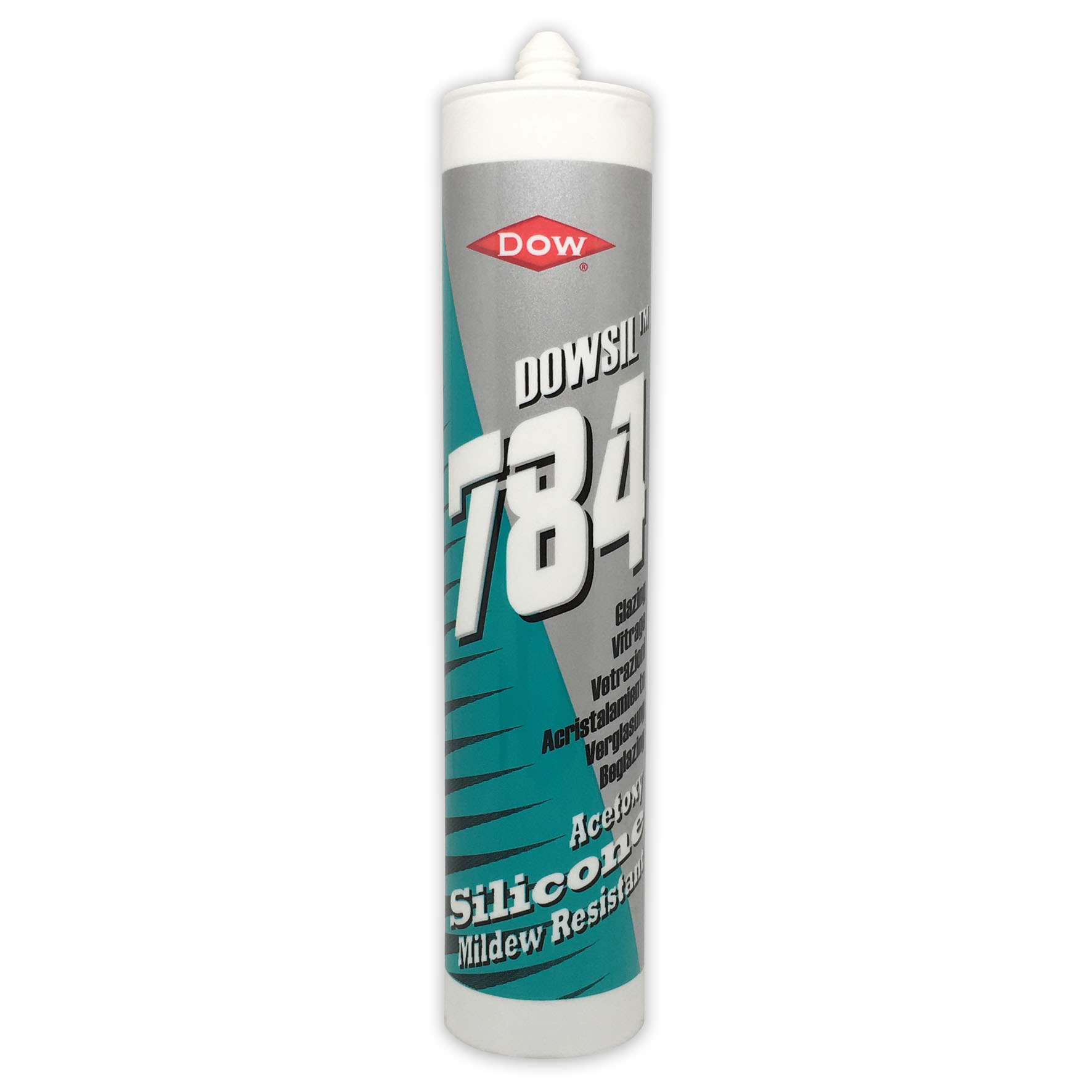 Dow Corning 784 Fast Cure Mould Resistant Silicone Sealant