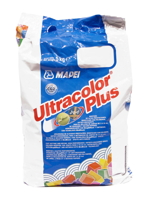 Mapei Ultracolor Plus Fast Setting Anti-Mould Grout