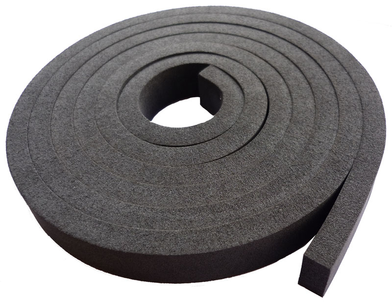 2 Metre Strip Black Backing Foam Caulking