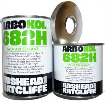 Polysulphide Mastic Sealants - Arbokol 682H Gun Grade Glass