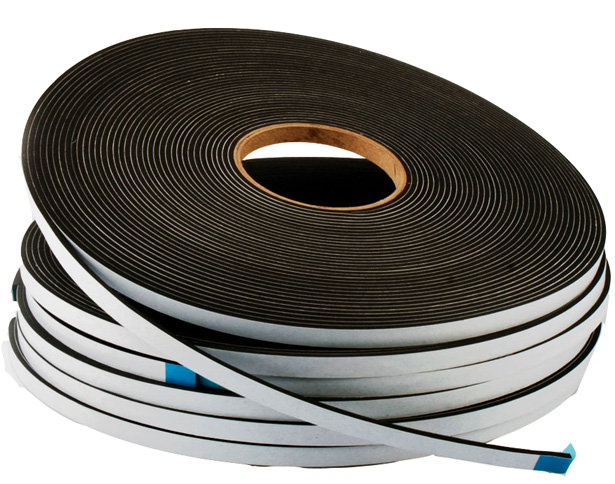 Arbostrip F42 Glazing & Weatherseal Foam Tape 12mm x 6mm Black