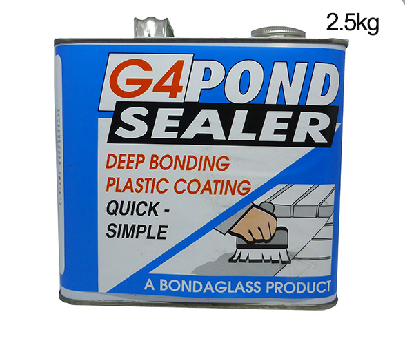 G4 Pond Sealer 2.5kg Clear