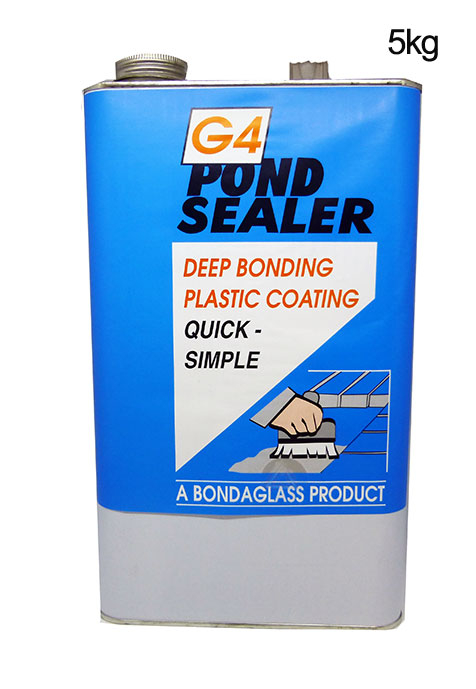 G4 Pond Sealer 5kg Clear