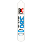 3C Sealants 380 LM Silicone Sealant 380ml White