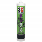 3C Sealants Max-Bond Powerful Hybrid Polymer Adhesive Black