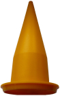 Wide Joint Yellow Cone Nozzle For Barrel Guns