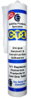CT1 Wet Tolerant Mastic Sealant & Adhesive Transparent Clear