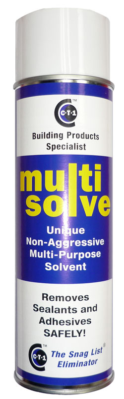 C-Tec CT1 Multisolve Spray Cleaner & Mastic Sealant Grease Remover 500ml