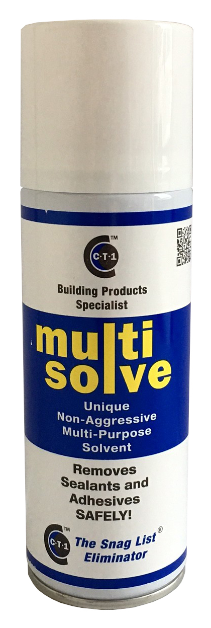 C-Tec CT1 Multisolve Spray Cleaner & Mastic Sealant Grease Remover 200ml