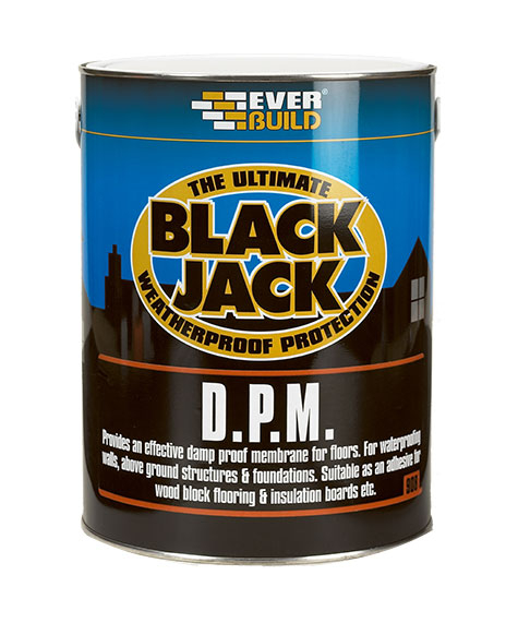 Everproof DPM (Black Jack) Bitumen Emulsion 5 Litre Black