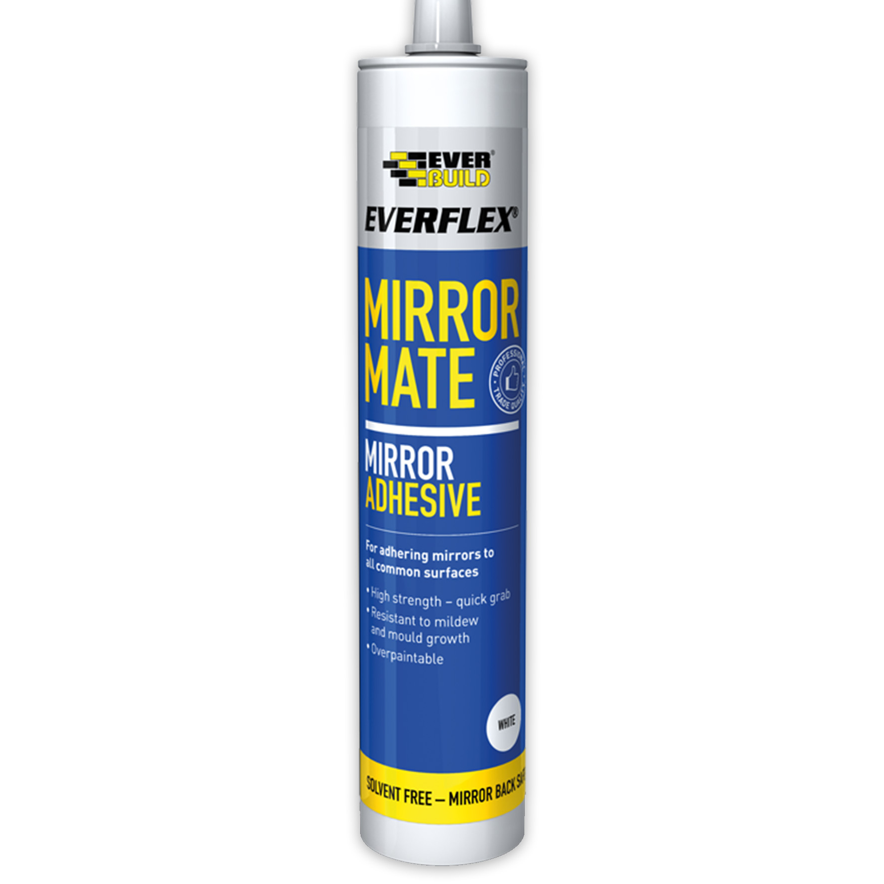 Everbuild Everflex Mirror Mate 290ml White