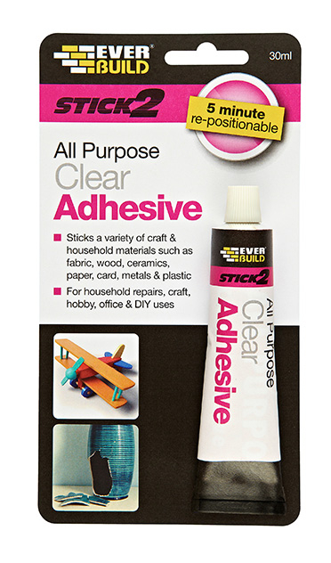 Everbuild Stick 2 All Purpose Repair Adhesive 30ml