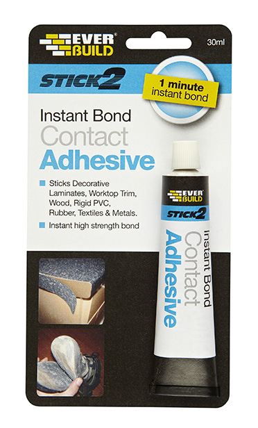 Everbuild Stick 2 Instant Bond Contact Adhesive 30ml