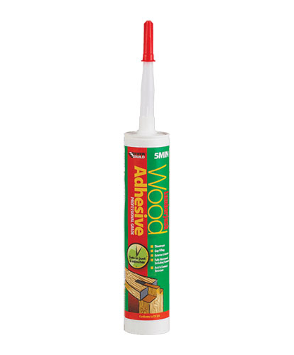 Everbuild Lumberjack 5 Minute Wood Adhesive Gel 310ml