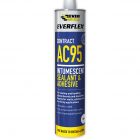 Everbuild Everflex AC95 Intumescent Sealant 900ml White
