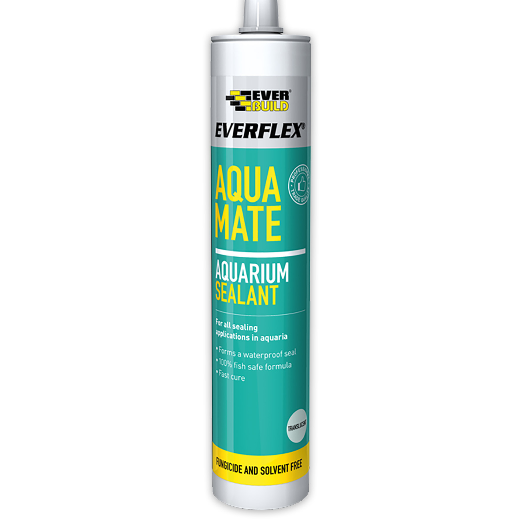 Everbuild Aqua Mate Aquarium Sealant Clear C3