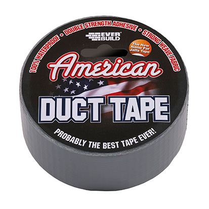 Everbuild American Duct Tape Silver 50mm x 25m