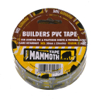 Builders PVC Tape Black 50mm x 33m