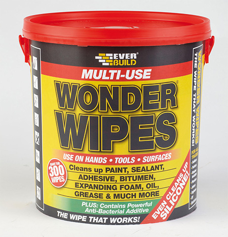 Everbuild Giant Wonder Wipes Tub (300)