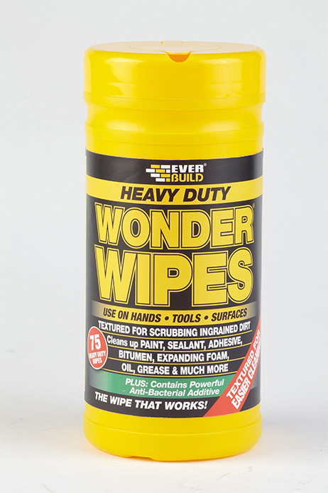 Everbuild Heavy Duty Wonder Wipes (75) Cleaning Wipes