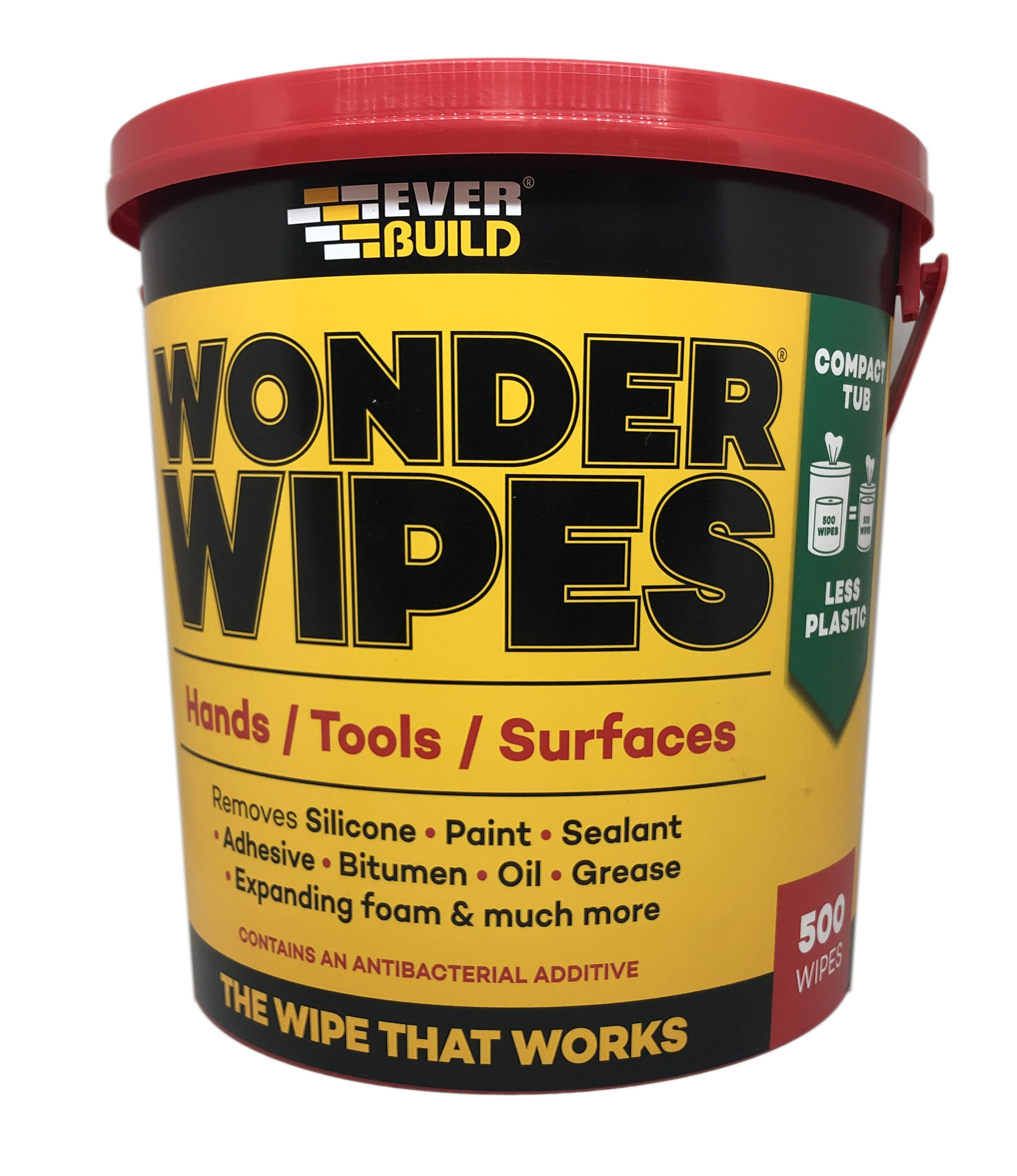 Everbuild Monster Wonder Wipes Tub (500)