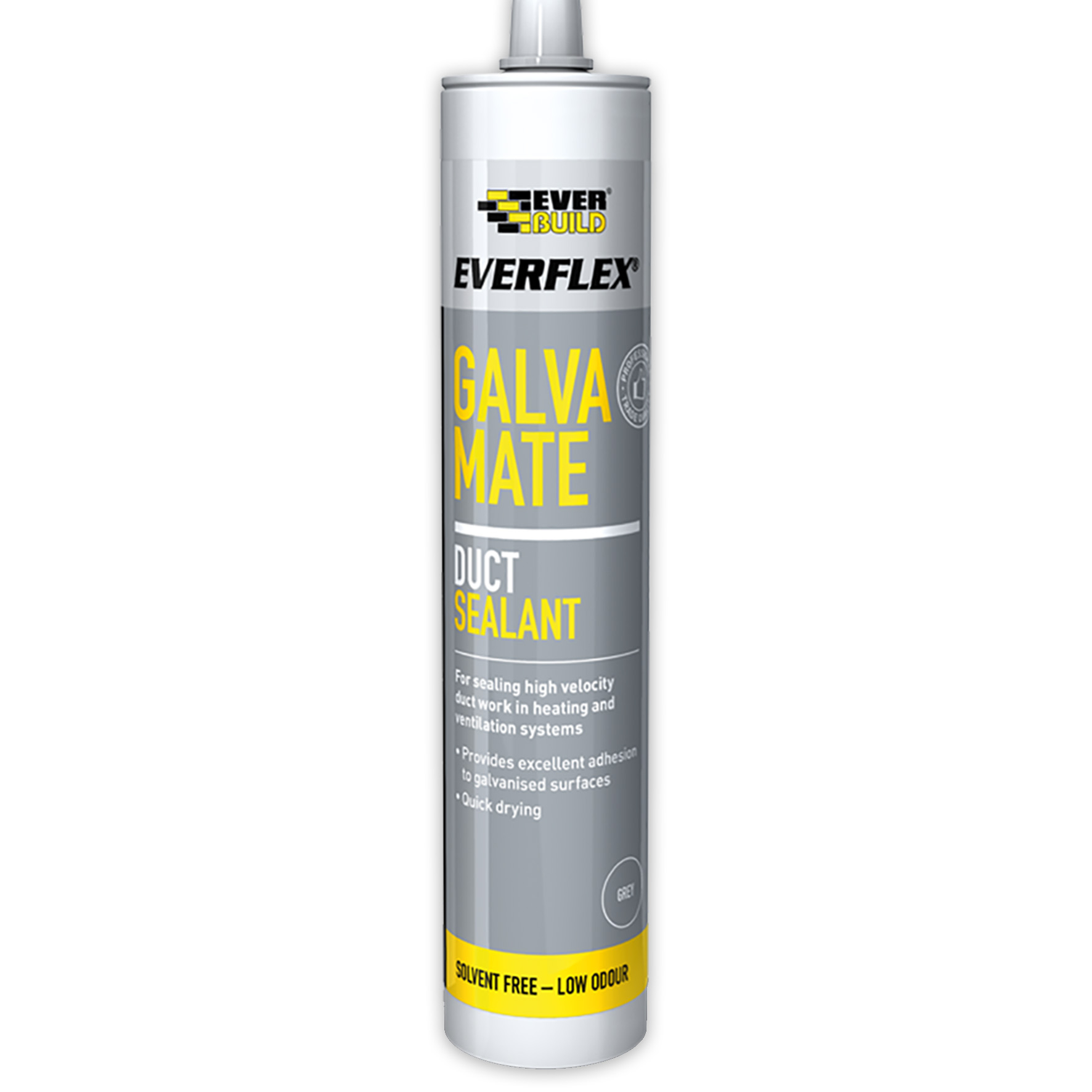 Everbuild Galva Mate Ducting Mastic Sealant Grey C3