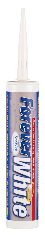 Everbuild Forever White Silicone Sealant 295ml