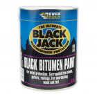 Everbuild Black Jack Bitumen Paint 1 Litre Black